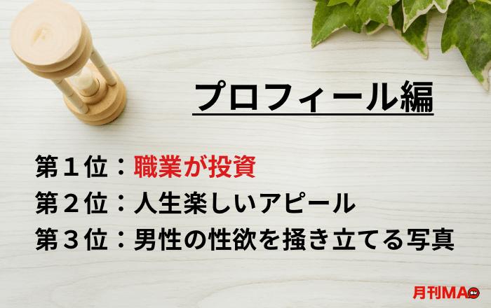 サクラ・業者の特徴・見分け方(プロフィール編)