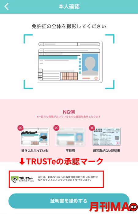 TRUSTeのマーク画像