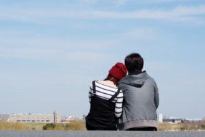 マッチングアプリで付き合ったカップル(イメージ)